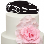 Sports Car Cake Acrylic Topper
